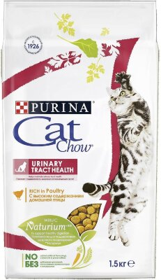 Сухой корм CAT CHOW Special Care Urinary Tract Health для кошек при мочекаменной болезни
