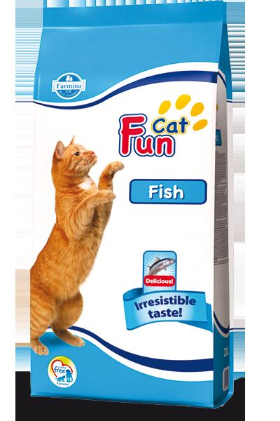 Сухой корм Farmina Fun Cat для кошек с рыбой