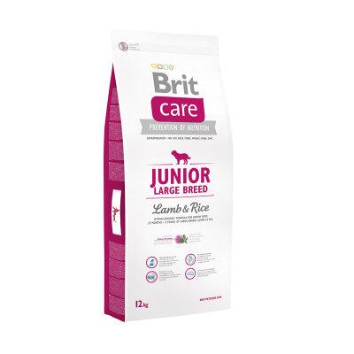 Сухой корм Brit Care Junior Large Breed Lamb & Rice для молодых собак крупных пород