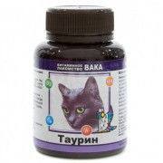 Витамины для кошек Вака с таурином, 80 таб