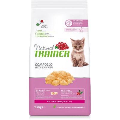Сухой корм Trainer Natural Kitten для котят в возрасте от 1 до 6 месяцев