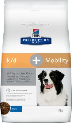 Сухой корм для собак Hill's Prescription Diet k/d + Mobility Canine, 12кг