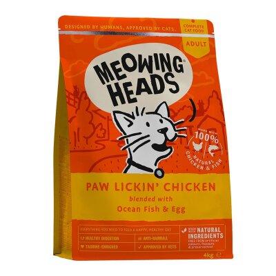 """Сухой корм Barking Heads для взрослых кошек с курицей и рисом """"Куриное наслаждение"""""""