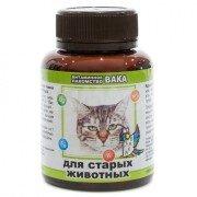 Витамины для кошек Вака для старых животных, 80 таб