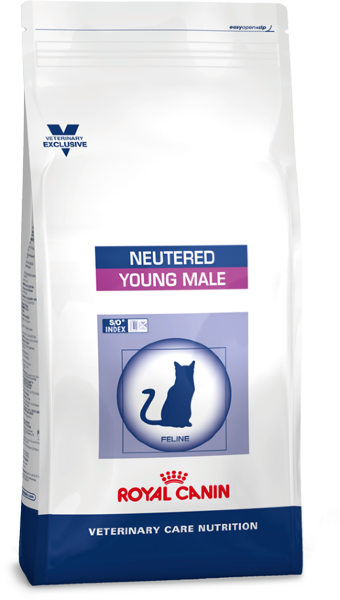 Сухой корм Royal Canin VCN Neutered Young Male для кастрированных котов до 7 лет