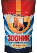 Наполнитель для кошачьего туалета Зооник силикагелевый