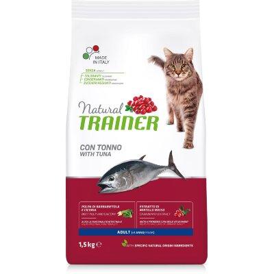 Сухой корм Trainer Natural Cat Adult с тунцом для взрослых кошек