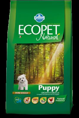 Сухой корм Farmina Ecopet Natural Puppy Mini для щенков мелких пород