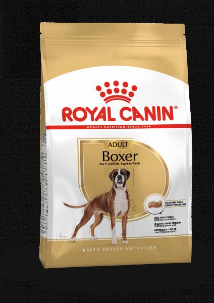 Сухой корм Royal Canin Boxer Adult для взрослых Боксеров, 12 кг