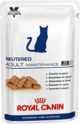 Паучи Royal Canin VCN Neutered Adult Maintenance для кастрированных котов и кошек до 7 лет, 100 г