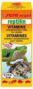Витаминная добавка к корму Sera Reptilin для черепах и рептилий, 15 мл