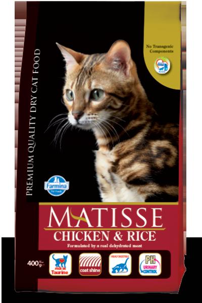 Сухой корм Farmina Matisse Chicken & Rice для взрослых кошек с курицей и рисом