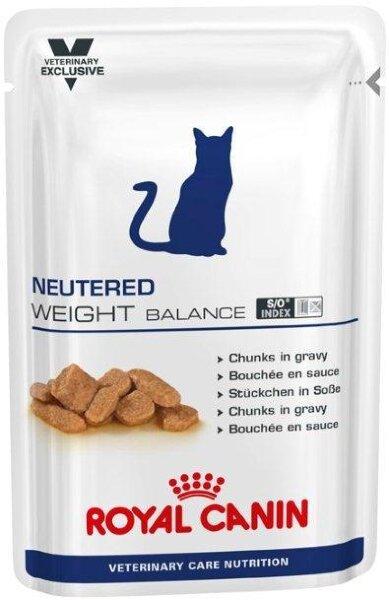 Паучи Royal Canin VCN Neutered Weight Balance для кастрированных котов и кошек с избыточным весом, 100 г