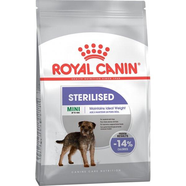 Сухой корм Royal Canin Mini Strilised для кастрированных/стерилизованных собак мелких пород