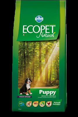 Сухой корм Farmina Ecopet Natural Puppy Maxi для щенков крупных пород