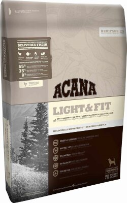 Сухой корм для собак с повышенной массой тела Acana Heritage Light & Fit