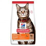 Сухой корм Hill's Science Plan для взрослых кошек, с ягненком