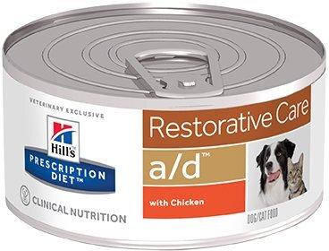 Консервы для собак и кошек Hill's Prescription Diet a/d в период восстановления, 24шт x 156г