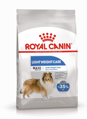 Сухой корм Royal Canin Maxi Light Weight Care для крупных собак, склонных к полноте, 15 кг