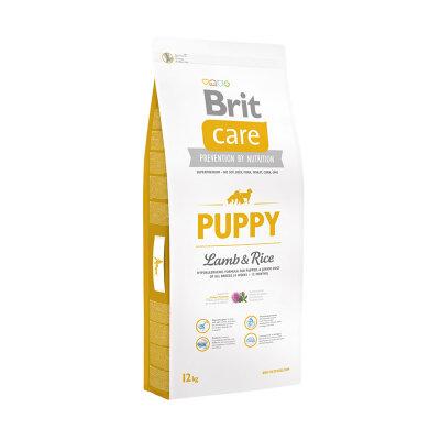 Сухой корм Brit Care Puppy Lamb & Rice для щенков и молодых собак всех пород c ягненком и рисом