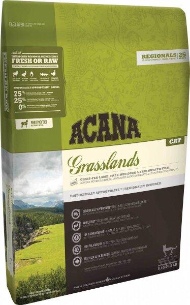 Сухой корм для котят и кошек Acana Regionals Grasslands Cat беззерновой, с ягненком