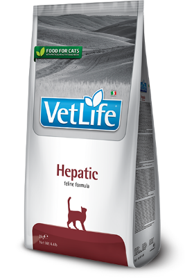 Сухой корм Farmina Vet Life Cat Hepatic для кошек при заболеваниях печени