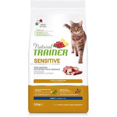 Сухой корм Trainer Natural Cat Sensitive Adult для кошек, склонных к пищевым аллергиям