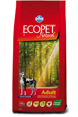 Сухой корм Farmina Ecopet Natural Adult Maxi для взрослых собак крупных пород