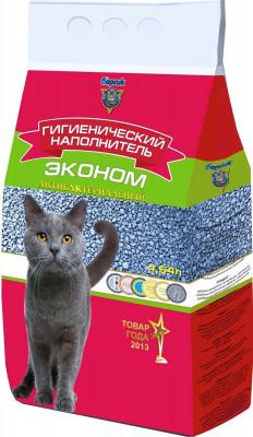 Наполнитель для кошачьего туалета Барсик Эконом 4,54л