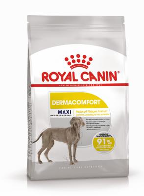 Сухой корм Royal Canin Maxi Dermacomfort для собак крупных пород с раздраженной кожей