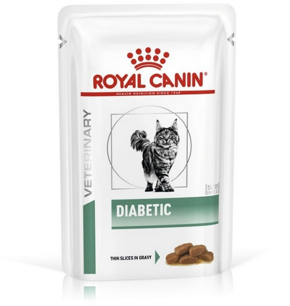 Паучи Royal Canin Diabetic для кошек при сахарном диабете, 85г