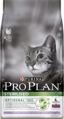 Сухой корм Pro Plan Sterilised для кастрированных и стерилизованных кошек с индейкой