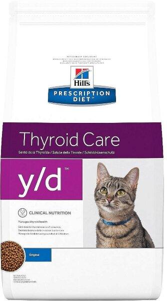 Сухой корм Hill's Prescription Diet y/d для лечения гипертиреоза для кошек