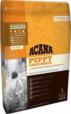 Сухой корм для щенков крупных пород Acana Heritage Puppy Large Breed (70/30/0)