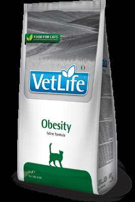 Сухой корм Farmina Vet Life Cat Obesity для кошек с избыточным весом