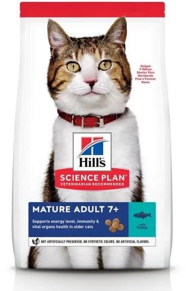 Сухой корм Hill's Science Plan для кошек старшего возраста, с тунцом