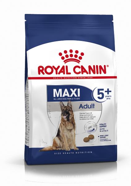 Сухой корм Royal Canin Maxi Adult 5+ для взрослых собак крупных размеров с 5 до 8 лет