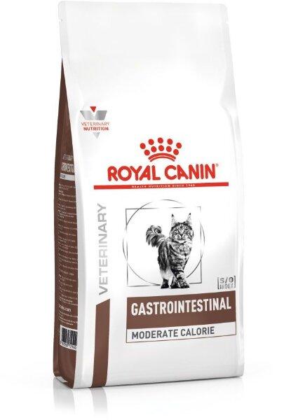 Сухой корм Royal Canin Gastro Intestinal Moderate Calorie GIM35 с умеренной калорийностью при нарушениях пищеварения у кошек