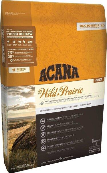 Сухой корм для кошек Acana Wild Prairie беззерновой, с курицей