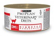 Консервы Pro Plan Veterinary Diets DM для кошек при сахарном диабете, 24шт x 195г