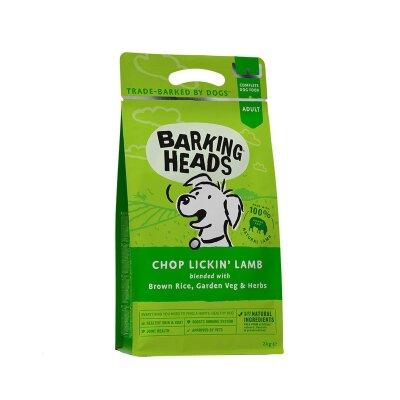 """Сухой корм Barking Heads для собак с ягненком и рисом """"Мечты о ягненке"""""""
