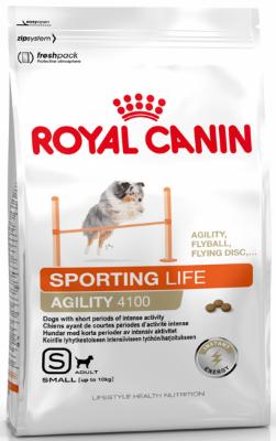 Сухой корм Royal Canin Sporting Life Agility 4100 для собак крупных пород при кратковременных интенсивных нагрузках, 15кг