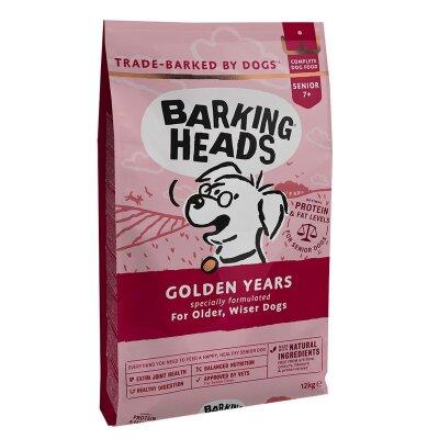 """Сухой корм Barking Heads для собак старше 7 лет с курицей и рисом """"Золотые годы"""""""