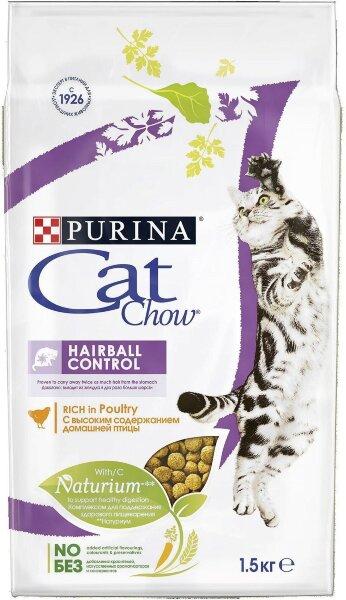 Сухой корм CAT CHOW Special Care Hairball Control для кошек для контроля образования комков шерсти