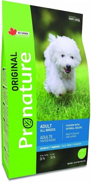 Сухой корм Pronature Original для собак всех пород с курицей