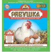 Премикс Рябушка концентрат с аминокислотами для кур и другой домашней птицы, 300г
