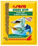 Корм для рыб Sera Guppy Gran для гуппи в гранулах 10г