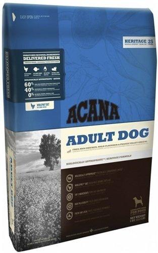 Сухой корм для собак всех пород и возрастов Acana Heritage Adult (60/40)