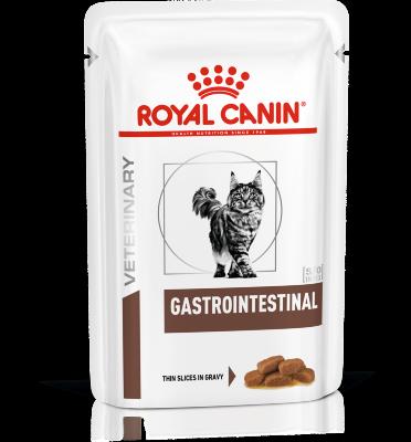 Паучи Royal Canin Gastro Intestinal для кошек при нарушениях пищеварения, 85г