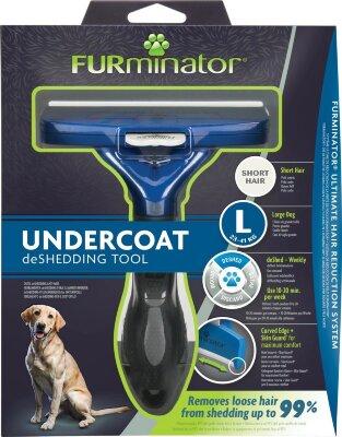 FURminator L для крупных собак с короткой шерстью